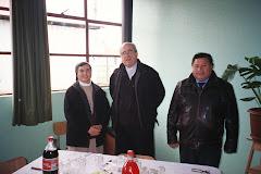 Visita Obispo de Temuco