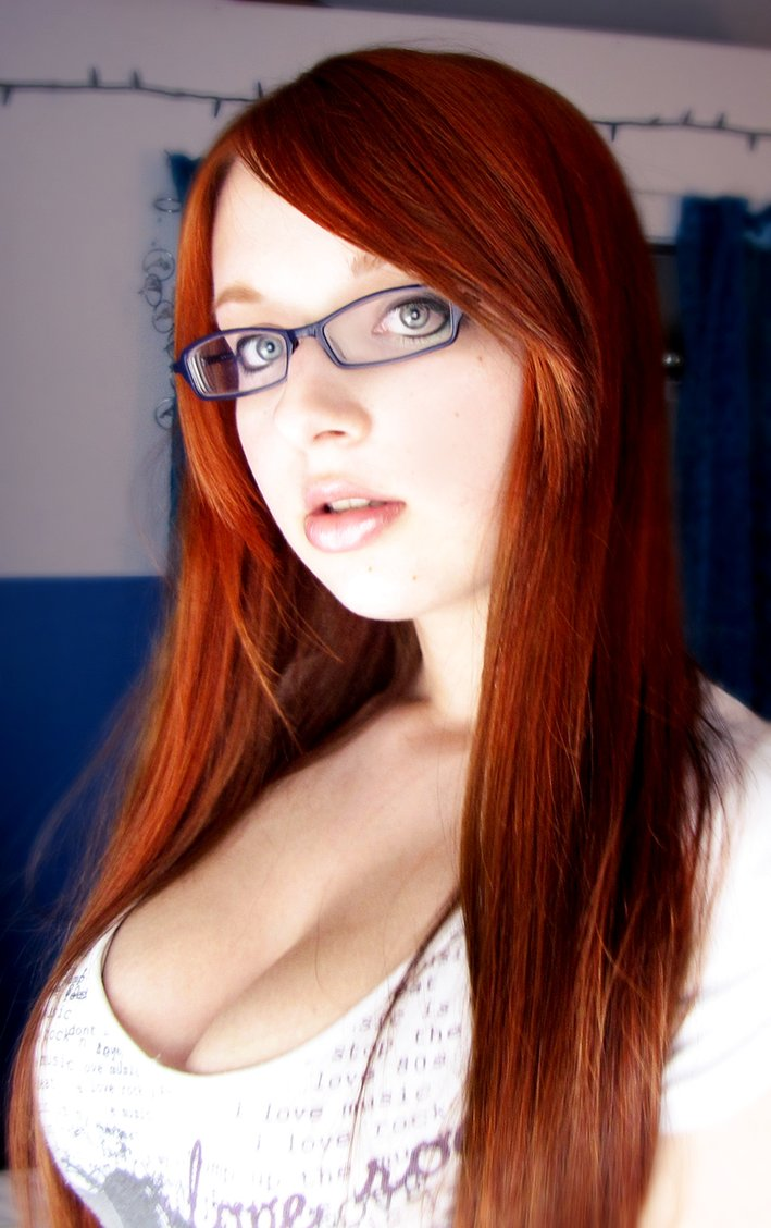 Redhead Teen With Glasses 26
