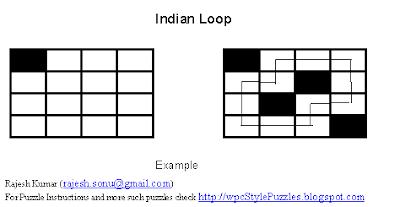 Logic Puzzles: Arrow Loop