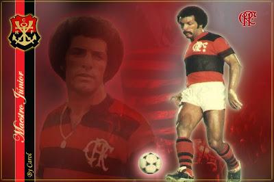 83c3ccd38d Júnior foi um dos maiores jogadores com carreira no Flamengo.