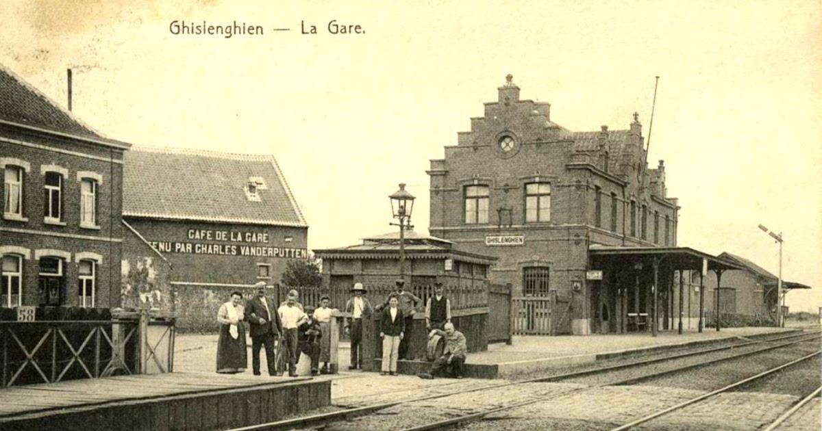 L 39 histoire saga des gares passion partag e ghislenghien la gare et ses voitures - Bureau de poste gare de l est ...