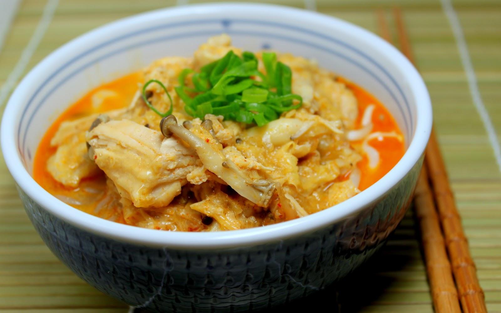 A Box of Kitchen: Curry laksa