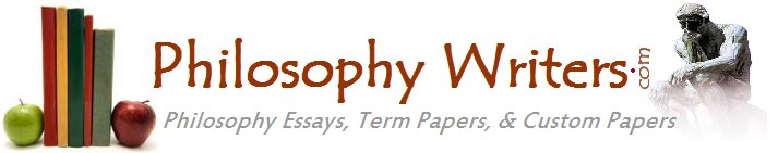 Philosophy Term Papers