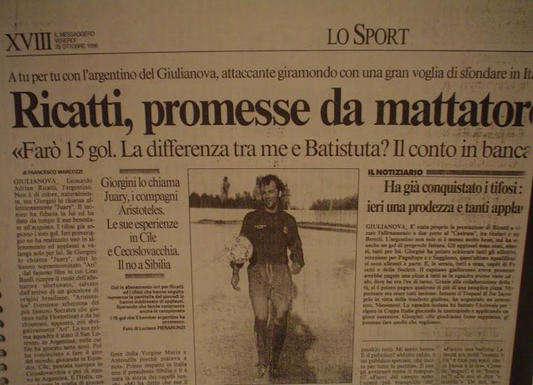 Ricatti, Un goleador de aquellos!!!