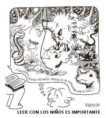 soñadores de cuentos: TONUCCI Y LA IMPORTANCIA DE LEER A LOS NIÑOS