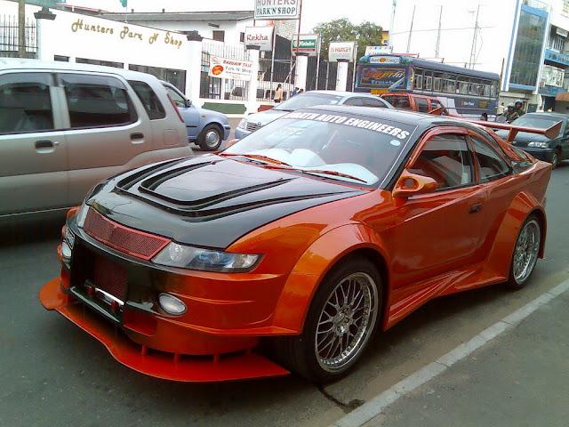 Sri Lankan Modified Cars