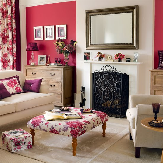 Modern Country Living Room Decor: BLOOMLICIOUS: Modern Country Living