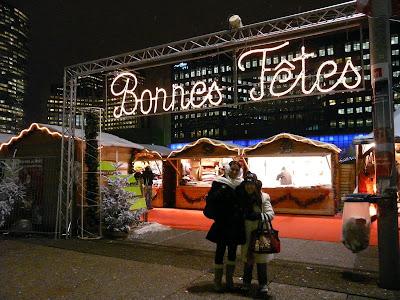 marché de Noël de La Défense