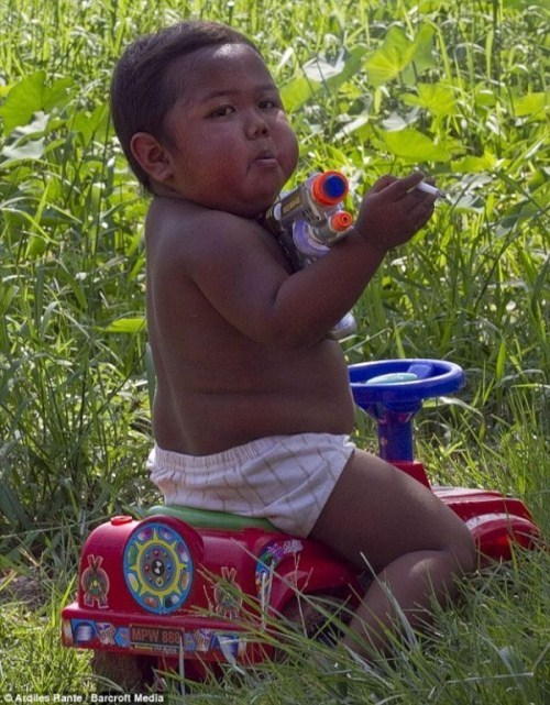 The Zest for Life: Hardy Rizal – The Two Year Old Smoker