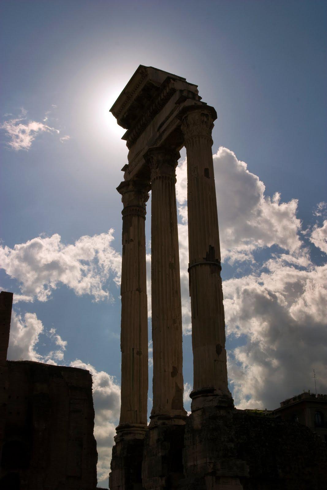 Drakes In Italy: Roman Forum