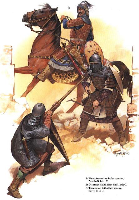 Hasil gambar untuk gambar pasukan ottoman