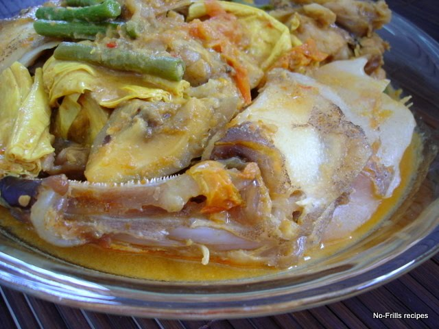 how to make malaysian fish head curry