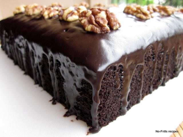 My Birthday Cake Chocolate Cake with Chocolate Topping