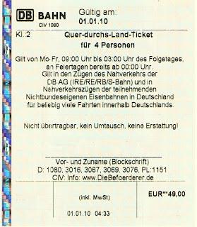deutschland quer ticket