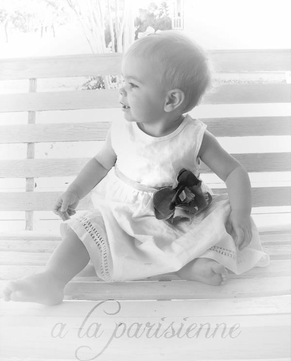 Dressing Baby: White Innocence & Gray Elegance