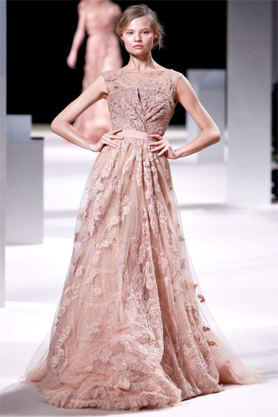 Will Work for Dress {une robe d'Elie Saab}