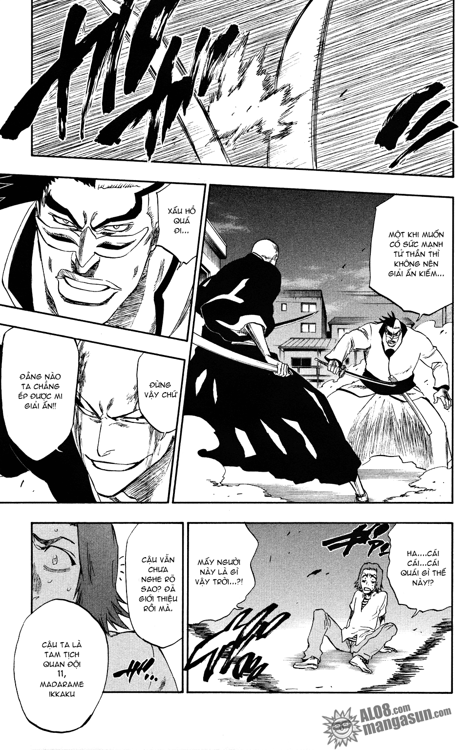 Bleach chapter 203 trang 5