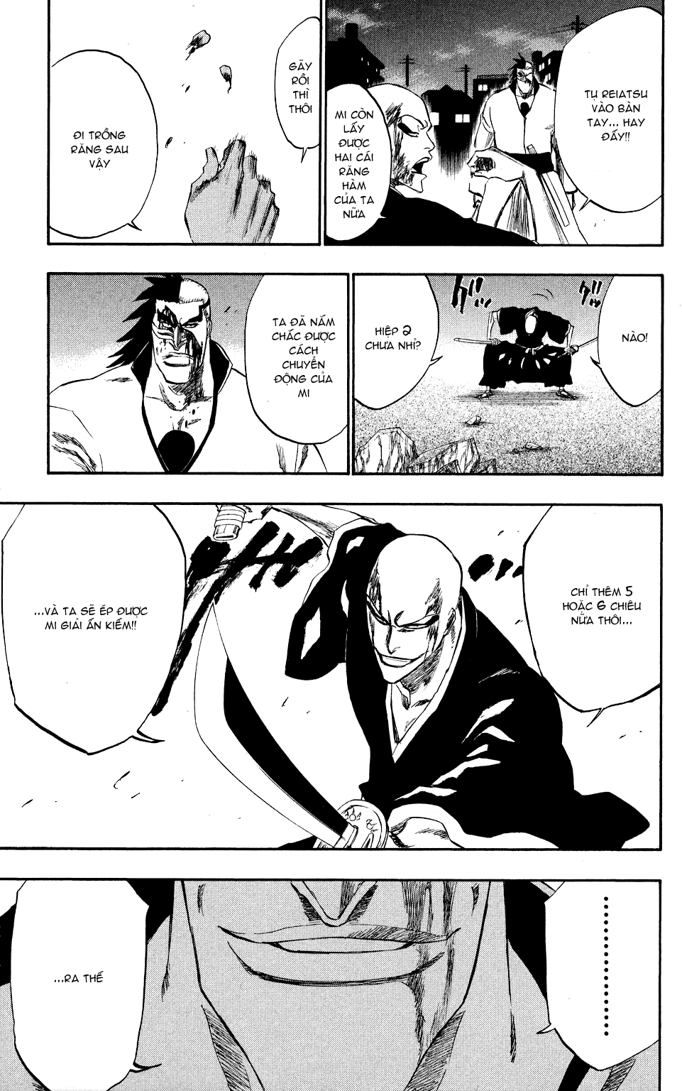 Bleach chapter 203 trang 17