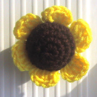 Ravelry: Sunflower Crochet Pattern pattern by From Home