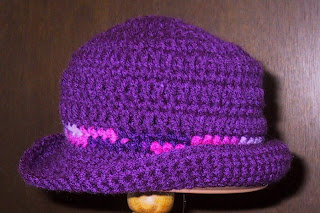 Free Knitting Pattern Rolled Brim Hat : Suzies Stuff: ROLL BRIM HAT - CHILDS (c)