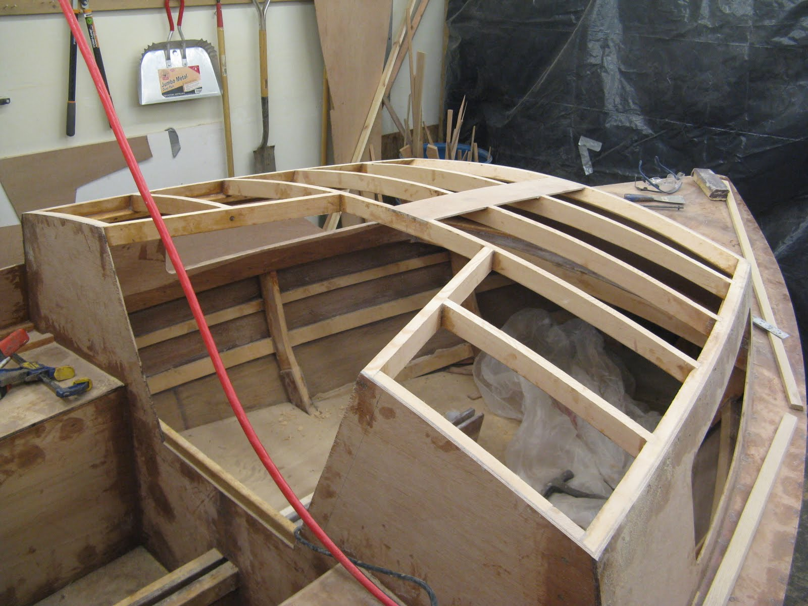 Plywood On Frame Boat Building - Page 4 - Frame Design & Reviews
