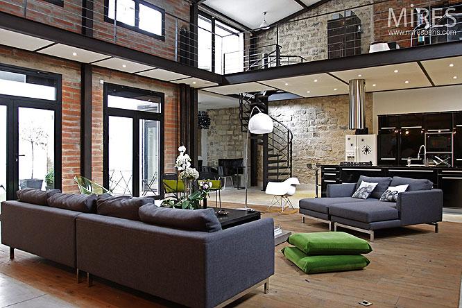sens interieur loft concept. Black Bedroom Furniture Sets. Home Design Ideas