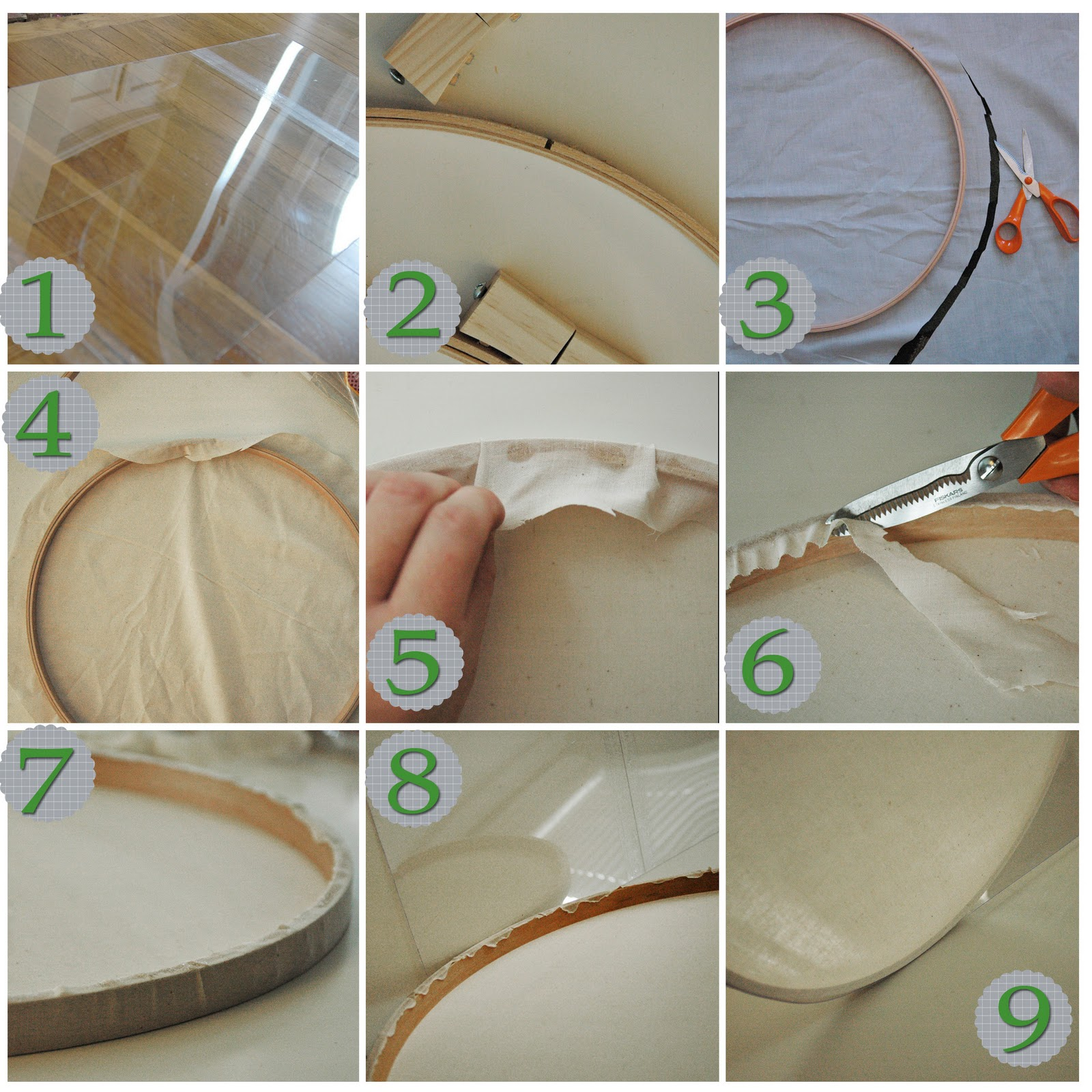 5 is the Magic Number: DIY Drum Lamp Shade Tutorial