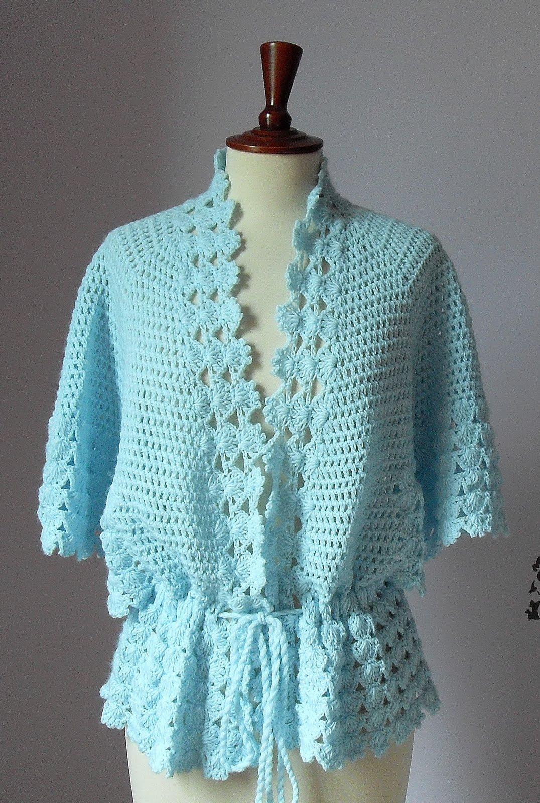 Crocheted Jacket Patterns - Crochet and Knitting Patterns