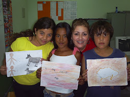 """Escola Admar Corrêa, 5ª série, """"Arte rupestre"""""""