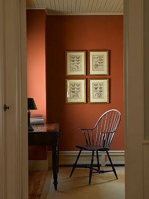 Willow decor a pennsylvania farmhouse - Farmhouse interior paint colors ...