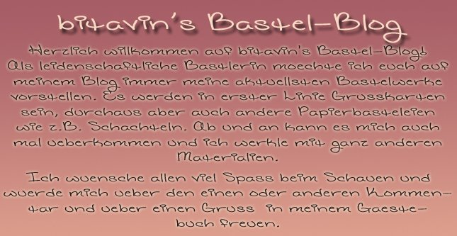 Gästebuch Banner - verlinkt mit http://bitavin.blogspot.com/