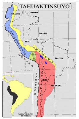 Resultado de imagen para mapa de los 4 suyos