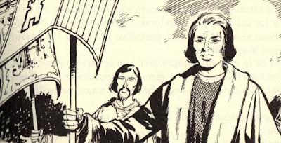 LOS VIAJES DE CRISTBAL COLN DIBUJO DE CRISTBAL COLN PARA COLOREAR