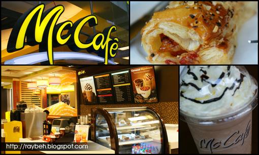 service cafe mcd