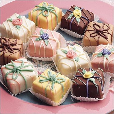 I petit fours: piccole dolci creazioni tutte da gustare