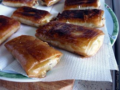 Pachetele cu brânză, de doua feluri