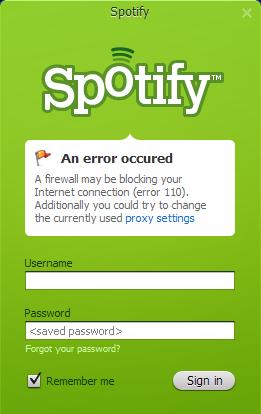 Firewall Blocked Spotify?