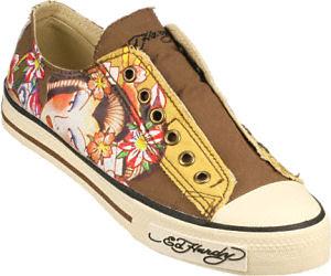 ed hardy geisha shoes