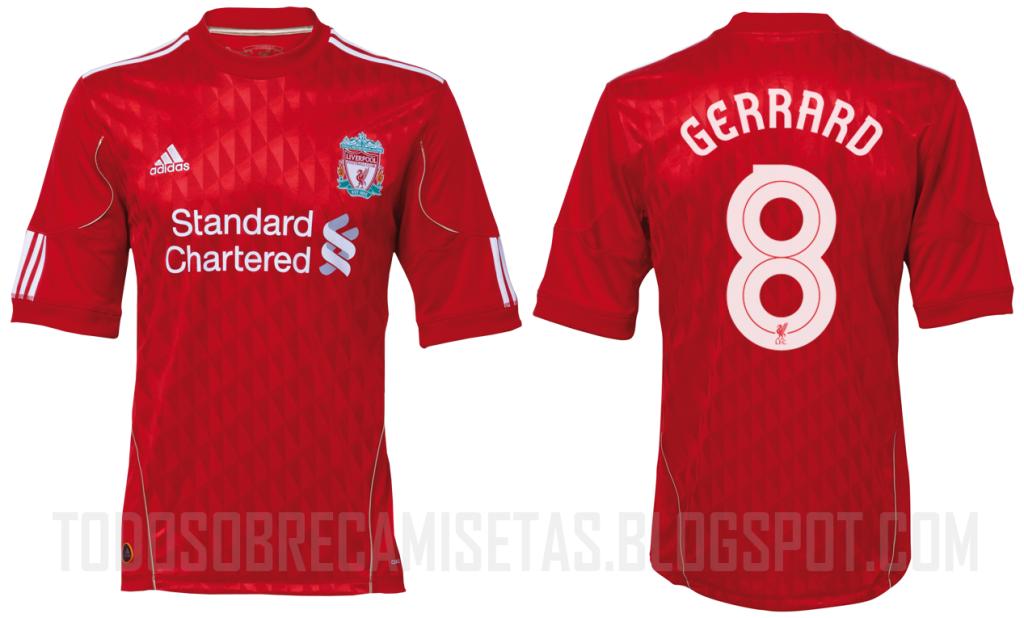 Mejores Camisetas De Fútbol (2010)