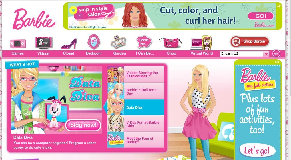 Play Barbie Restaurant Games