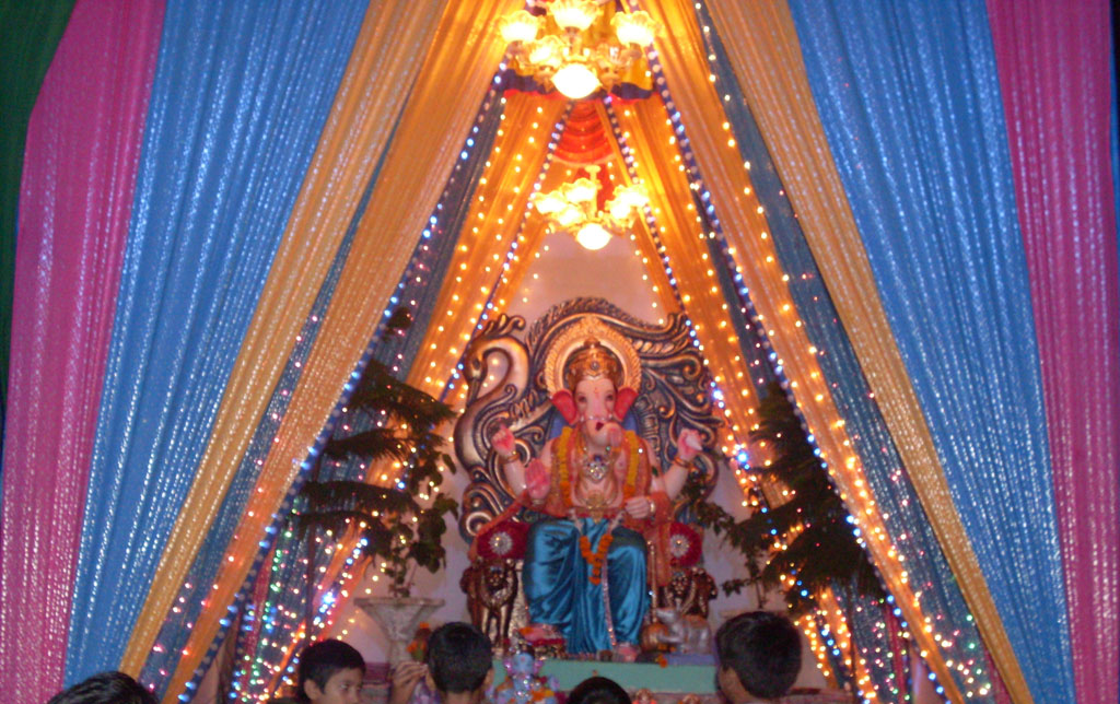 simple decorations for ganesh chaturthi flisol home