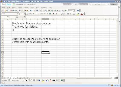 Thinkfree Online Screenshot 3.