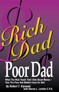 Rich Dad Poor Dad book.