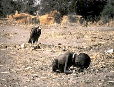Kevin Carter's Pulitzer Prize awarded photo