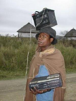 Low budget Walkman.