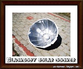 Blackbody Solar Cooker