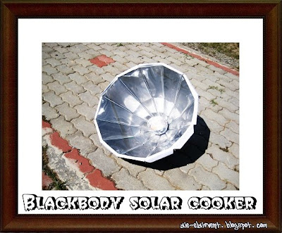 Kami Start Buat Solar Cooker Nie Pada Awal Bulan Januari Dan Siap Dua Macam Mana Cara Nak Dapur Tu Itu Tak Boleh Bagtau Sebab