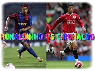 Cristiano Ronaldo skills vs Ronaldinho skills