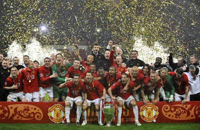 Manchester United Wins Champions League Final