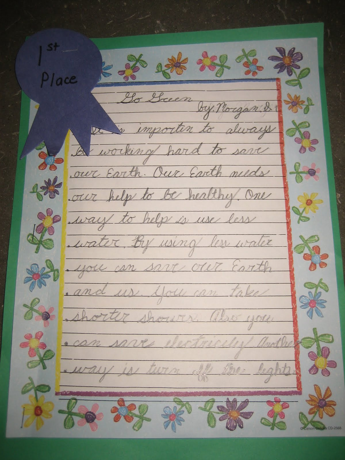 My turn essay contest 2010